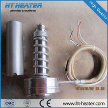 Hot Runner Coil and Cable Heaters with thermocouple J