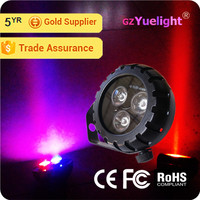 Yuelight LED 10W High Brightness RGB tri color best price led light bar cover