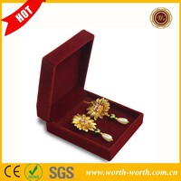 Artifical flower newest gold earring, lovely real 24k gold earring stud wholesale