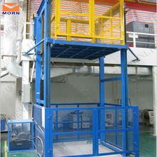 Four post hydraulic safe goods lift