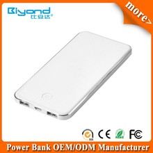 Portable external battery power bank for iPhone, cellphone, MP3 etc