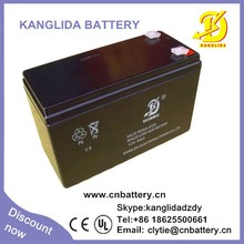 deep cycle 12v 9ah security alarms system battery