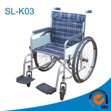 High quality commode type functional steel Wheelchair for elders and handicapped