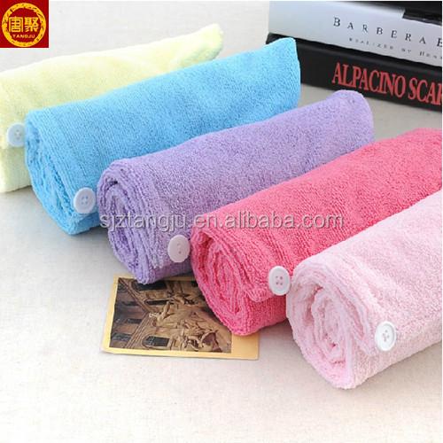 China wholesale microfiber hand towel, hair drying towel, dry hair towels.jpg