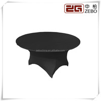 Hot Sale Wedding and Banquet Used Colorful Spandex Round Table Covers