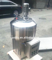 Stainless steel vertical eclectric control cooling refrigeration milk storage tank for milk/heating and cooling tank