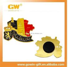 Wholesale promotional 3d metal custom souvenir fridge magnet