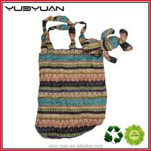 2015 Folding reusable shopper bag plastic shopping bag making machine
