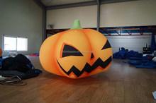 Cute desin inflatable Halloween decoration pumpkin