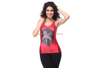 New style spandex polyester tank top for women high quality wholesale