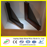 Stainless steel security curtains for windows
