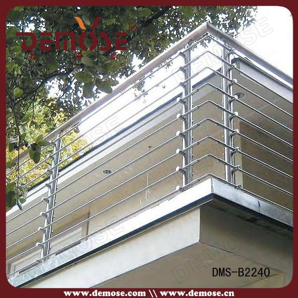 Barandales modernas de acero inoxidable para dise os de for Tipos de toldos para balcones