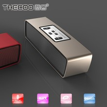 THECOO 2x3W stereo Bluetooth speaker with dynamic and rich sound
