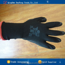DANFENG YX567 black latex glove raw materials dipping working glove wear-resisting Tearing resistance glove guard