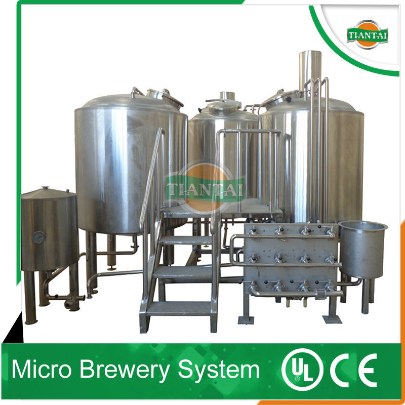 Mashing tun kettle tun brew house for craft beer equipment for Craft kettle brewing equipment