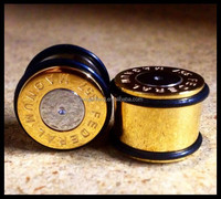 Bullet Casing with no Flare Ear Plugs