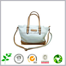 Latest Design leather women Handbags, dual-use inclined shoulder bag, leather lady bag wholesale factory