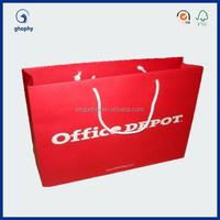 kraft paper bag, brown paper bag , paper bag with logo printing