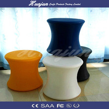 mini LED bar stool /rechargeable PE BOX/glowing chair for storage