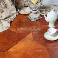Multilayer Rusticed Parquet Birch Engineered Wood Flooring made in China