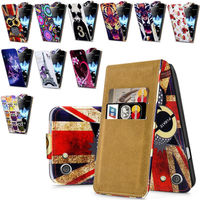 For Sony Xperia Tipo ST23I High Quality Print Flip PU Leather Case Cover Moible Phone Case