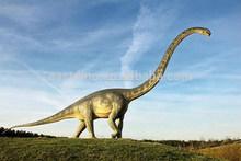 Hizo nuevamente dinosaurios robot para parque de dinosaurios