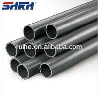High quality pvc piping/black rigid pvc pipe manufactory