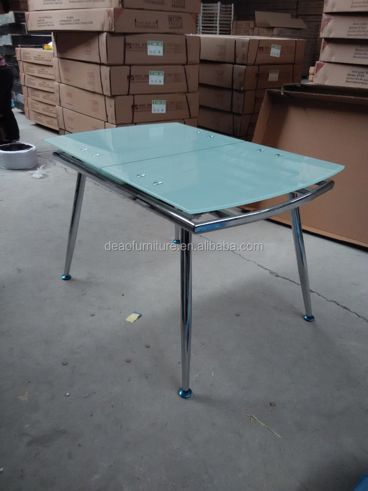 Modern Extending Metal Tempered Glass Dining Table Buy  : Modern extending metal tempered glass dining table from alibaba.com size 750 x 1000 jpeg 141kB