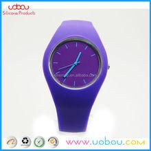 Geneva Silicone Golden Ladies/Women/Girls Sport Jelly Wrist Watch