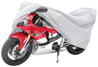 100% waterproof and heat welded cheap PEVA grey 13101 motorcycle cover