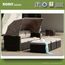 Sectional sofa furniture aluminium outdoor garden sofa bed