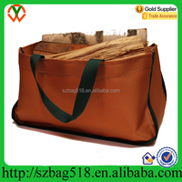 2015 12oz Canvas Log Carrier / Tote firewood bag