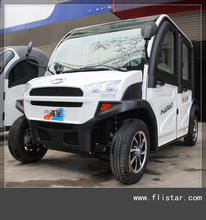 The New Model 4 Wheel 4 Seats 4 Door Electric Car for passenger /2800w Sightseeing Vehicle