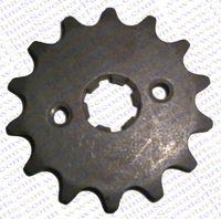 14 Tooth 420 428 520 530 17MM 20MM 50CC 70CC 90CC 110CC 125CC 150CC 200CC 250CC Sprocket Dirt Pit bike ATV Quad Buggy Parts