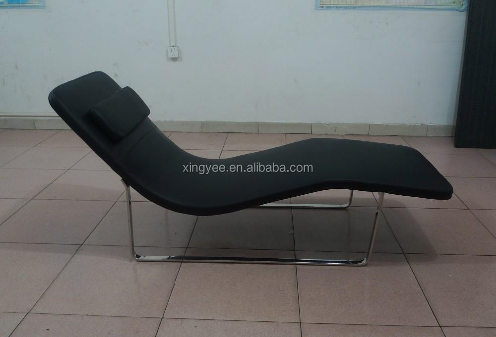 Moderne chaise longue l 39 int rieur salon en gros salon de for Chaise longue en tissu
