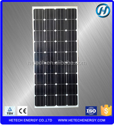 the lowest price solar panel 130w from china alibaba manufacturer