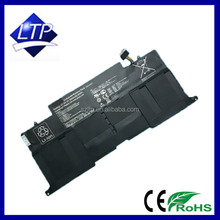 CE ROHS FCC Certification approved Akku for Asus note book battery 7.4V 6840mAh C22-UX31 ZenBook UX31A UX31E