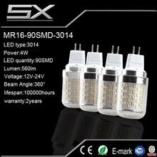 energy saving 3w/ 3.5w /4w MR16 led lighting bulbs