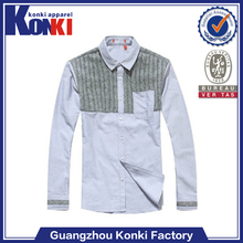 formal 100% polyamide mens business shirts