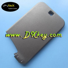 No logo!! 2 buttons car plastic cover for renault key card renault laguna key card