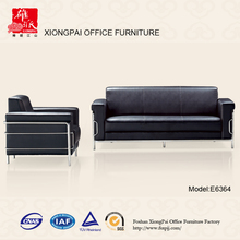 High back leather sofa combination of modern minimalist apartment E6364