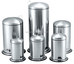 Stainless Steel Foot Pedal Garbage Trash Bin