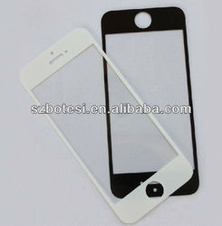 color tempered glass screen protector for iphone4/iphone5, silk printed