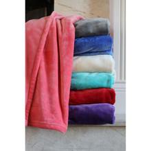 100% polyester ultra soft plush blanket throw