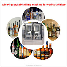 glass bottle red wine/fruit wine/alcoholic beverage fully automatic filling machine