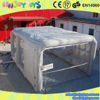 Popular inflatable spray booth