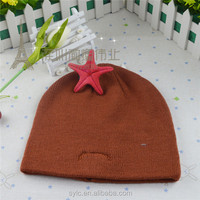 wholesale fashion winter hat for young girls custom beanie hat