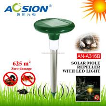 Get Rid Of Gophers Solar Electric Mole Trap