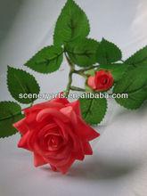 arreglos de flores artificiales sueltas artificiales flor de poliéster decorativo guirnalda de flores artificiales