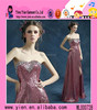 Newest Design Strapless Sweetheart Floor-Length Evening Dress Sexy Open Back And Side Slit Floor-Length Evening Dress